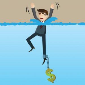 Pożyczka dla zadłużonych. Grafika.